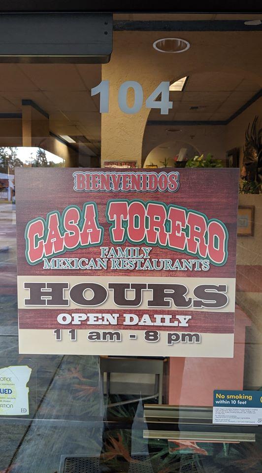 Casa Toreros Family Mexican Restaurant