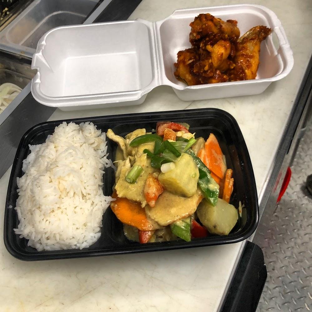 Cashew Gai Thai food